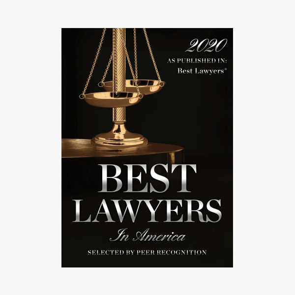 2020 Best Lawyers In America As Published in Best Lawyers